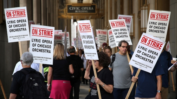 Update: Ratified Agreement For The Chicago Lyric Opera On Strike