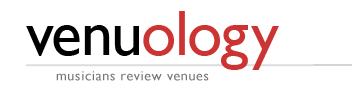 Venuology: Musicians Review Venue