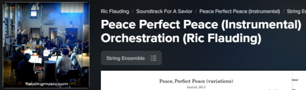 Peace, Perfect Peace now on Praise Charts