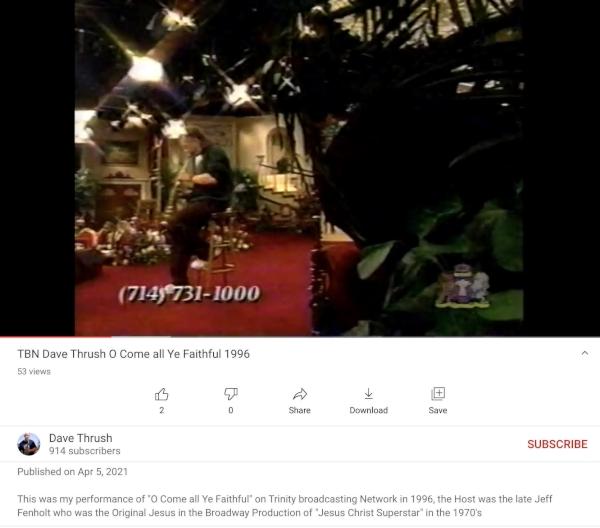 Dave Thrush on TBN