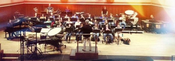 Schwantner Percussion Concerto at Round Top