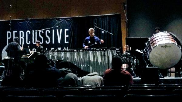 Burritt Plays the New Reflection Majestic Marimba at PASIC 2018