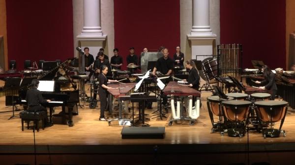 University of Texas Percussion Ensemble at the Lassiter Percussion Symposium