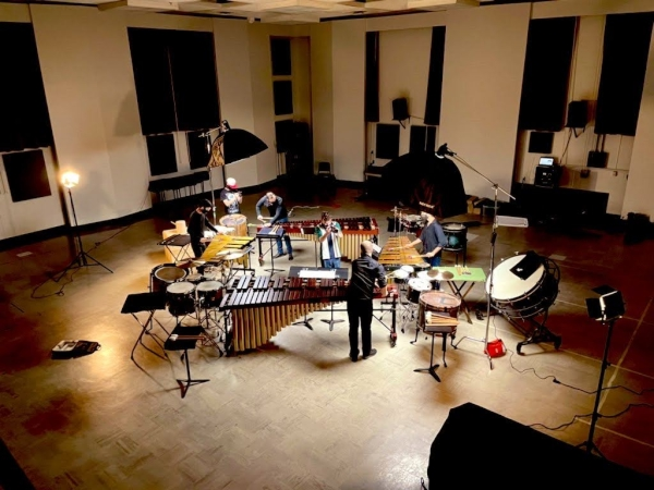 UT Percussion Ensemble Poised to Release 2020 Video Performance