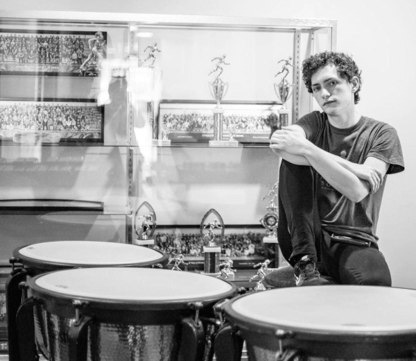 John Dawson (Freshman) will be the timpanist for the 2018 Blue Knights Drum and Bugle Corps