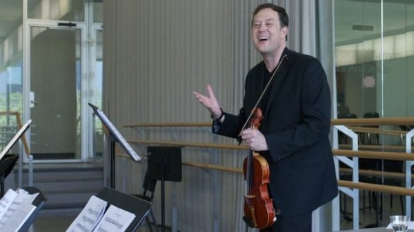 Brian Lewis: Canons and Music for Four Violins